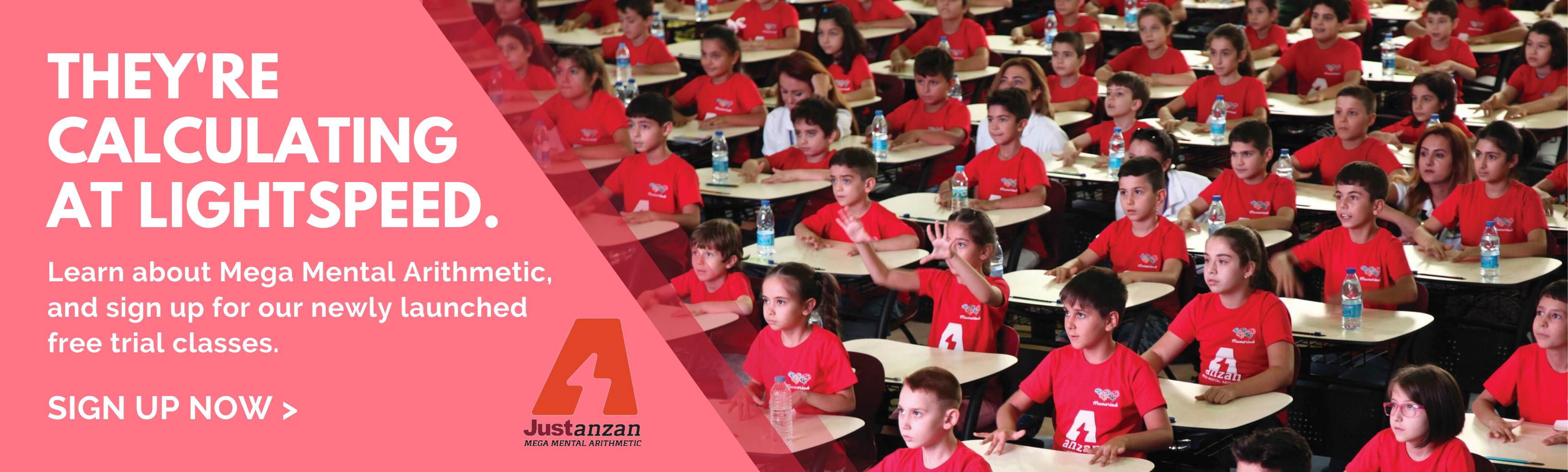 Anzan Free Trial Class 2020 Website Banner With Logo